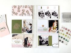 July 2019 Documenter Spread by sarahzayas at Studio Calico Pocket Scrapbooking, Life Design, Studio Calico, Life Photo, Project Life, Art Prints, My Favorite Things, Projects, Album