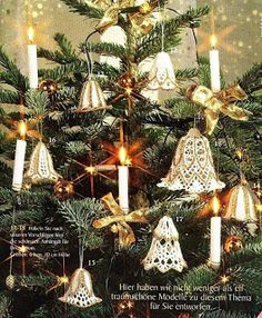 VALYS HANDMADE: CHRISTMAS - BELLS CROCHETED !