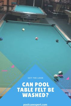 Can Pool Table Felt Be Washed?Here we also have a few steps to revive back a pool table felt so that it looks brand Pool Table Felt, Pool Table Cloth, Custom Pool Tables, Pool Cues, Explain Why, Cool Pools
