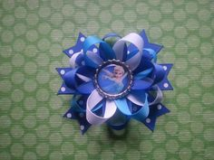 Disney Frozen Alsa hair bow available for little by bellecaps, $4.75
