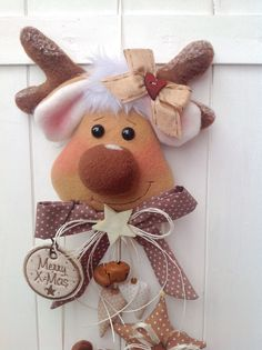 �� Girlande mit  Sterne & Elch  ähnlich Tilda Weihnachten Advent Landhaus ��  | eBay