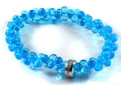 Thomas Sabo Blue Crystal Bracelet