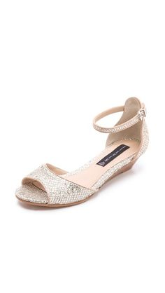 glittery sandals #sparkles #shoes