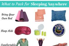 Her Packing List - Female Travel * Gear * Packing Tips - Her Packing List
