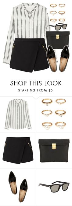 """Style #10684"" by vany-alvarado ❤ liked on Polyvore featuring J.Crew, Forever 21, 3.1 Phillip Lim and Yves Saint Laurent"