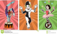 Kuvahaun tulos haulle circus characters
