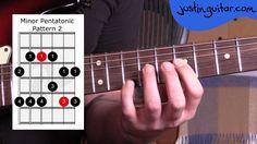 Guitar Lesson: Minor Pentatonic Pattern 2 for Essential Blues Lead Guitar #7 More Info & TAB: http://www.justinguitar.com/en/BL-407-TheMinorPentatonicScale-P...