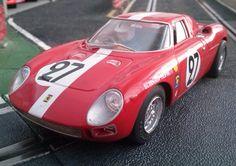 Ferrari 250 LM Scuderia Filipinetti Le Mans 1965  Mi post sobre este precioso coche en el blog #Slot México