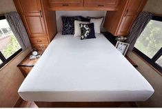 What should you look for in an RV Mattress? Those and many other questions answered in our RV Mattress Guide Travel Trailer Camping, Camping Hacks, Rv Hacks, Camping Gear, Rv Travel, Camping Stuff, Hiking Gear, Outdoor Camping, Camping Recipes