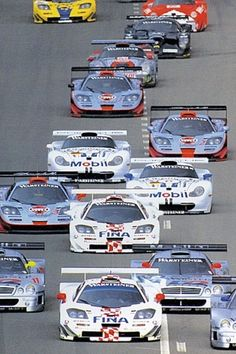 Spa 1997 Sports Car Racing, Road Racing, Sport Cars, Motor Sport, Le Mans, Gt Cars, Race Cars, Mclaren Gtr, Mercedes Clk Gtr