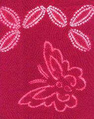 shibori, hira nui shibori, natural dye, natural dyeing, kusakizome, butterfly, silk shibori, japanese shibori, indigo dyeing, shiborizome, textile, resist shibori, traditional shibori