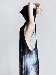 Galaxy Black Cape by Black Milk Clothing  #fallintofashion14 and #mccallpatterncompany