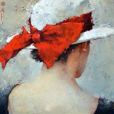 """Le Ruban Rouge"" -- by Andre Kohn (b.1972, Russian/American)"