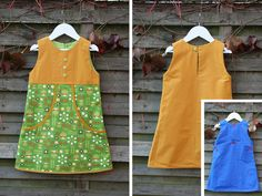 dress pattern not in English Sewing Kids Clothes, Sewing For Kids, Little Girl Dresses, Girls Dresses, My Little Girl, Her Style, Kids Girls, Cute Dresses, Dress Skirt