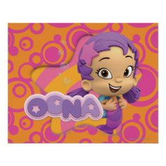 Oona Posters | Nickelodeon Bubble Guppies Tshirts and Gifts