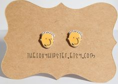 Doug Funnie Earrings, $9 | 18 Cool Etsy Products All '90s Nickelodeon Kids Need Now
