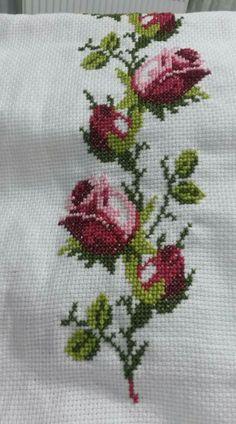 Kanaviceler Embroidery Hoop Art, Cross Stitch, Knitting, Drop Cloths, Weather, Craft, Needlepoint, Business, Display