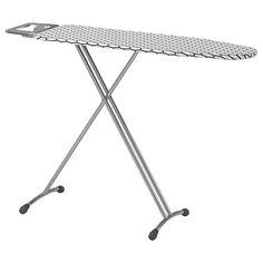 The material lets steam through from the iron, which prevents moisture forming. Iron Board, Future, Epoxy Coating, Steel, Home, Tripod, Future Tense, Ironing Station