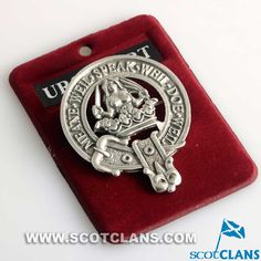 Urquhart Clan Crest Badge: