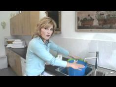 Anthea Turner, The Perfect Housewife, gives practical and useful housekeeping tips THAT WORK.