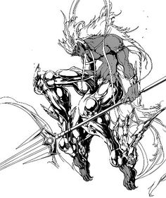 Mu Alexius (Magi) part of the Reim empire. This is his ultra sexy dijinn equip