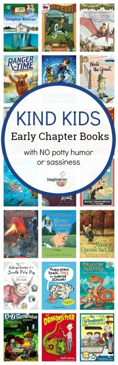 A Nice Kids Early Chapter Books List for Boys A reader asked me for a book list for wholesome beginning (early) chapter books that do NOT have potty humor and rude characters with sassiness. Books For Boys, Childrens Books, Kid Books, Kids Reading, Reading Books, Reading Lists, Teaching Reading, Chapter Books, Children's Literature