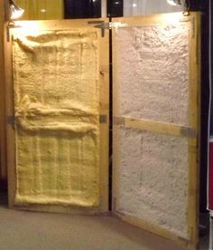 How To Choose The Right Insulation For Your New Or Existing Building Spray Foam Insulation vs SATAC Insulation for pole barns, metal buildings and other commercial properties. Metal Shop Building, Steel Building Homes, Building A House, Building Ideas, Metal Building Insulation, Spray Insulation, Pole Barn Shop, Pole Barn Garage, Metal Barn Homes