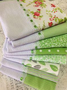 Kit 8 panos de prato barra coordenada verde claro no Dish Towels, Tea Towels, Red Rice Recipe, Cutlery Holder, Crochet Borders, Kitchen Tops, Bar Lighting, Flower Crafts, Stencils