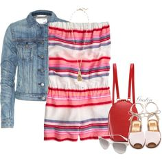 """""""romper"""" by stacy-gustin on Polyvore"""