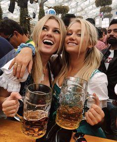 Oktoberfest Outfit, Oktoberfest Beer, Octoberfest Girls, Bad Girl Good Girl, Drindl Dress, Beer Girl, Gentlemen Prefer Blondes, Beer Festival, Root Beer