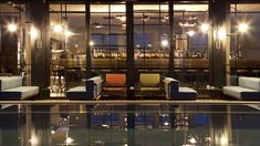 The city's fashio hot spot Ceresio 7, a rooftop bar / restaurant belonging to Dsquared2 designers Dean and Dan Caten.