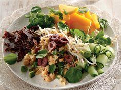 Shop now for Biltong. Low Carb Recipes, Cooking Recipes, Healthy Recipes, Salad Recipes, Braai Salads, Fruit Salads, Biltong, Beef Salad, Mexican Food Recipes