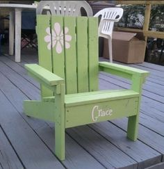 Easy DIY Kids Patio Chairs | Woodworking Session