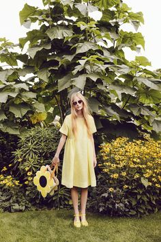 Orla Kiely campaign shoot for SS 15, photography by Yelena Yemchuk