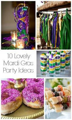 10 Lovely Mardi Gras Party Ideas B Lovely Events Mardi Gras Food
