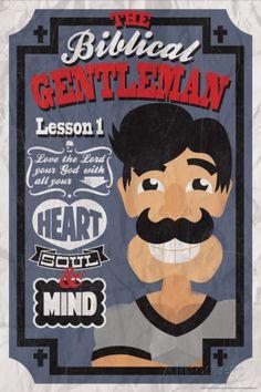 Biblical Gentleman 1 Posters at AllPosters.com