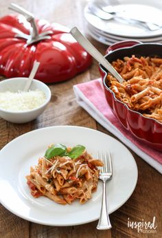 5 Cheese Sun-Dried Tomato Pasta