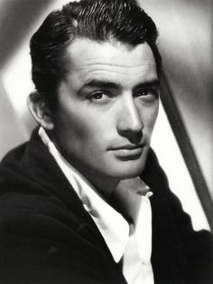 "Old Hollywood Glamour ~ Gregory Peck, late 1930s. Starred in one of the best films ever made, ""To Kill A Mockingbird."""