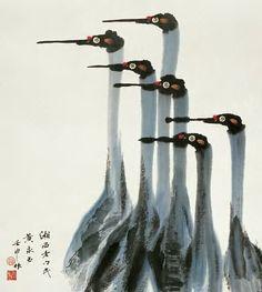 黄永玉花鸟作品欣赏 - wangchangzhengb - wangchangzhengb的博客