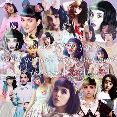 Melanie Martinez / Training Wheels / tumblr collage