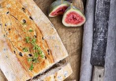 A moist, delicious fruit bread stuffed with figs and nuts - sliced and spread with your favourite spread it makes a wholesome teatime snack. Fruit Bread, Cocoa Cinnamon, Tea Time Snacks, Delicious Fruit, Figs, Balanced Diet, Crackers, Breads