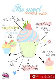 The sweet merenda #leaflet by Sara Gorini