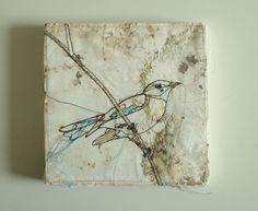 Textile Art - Bird.