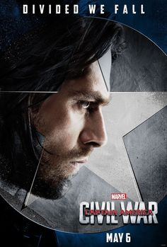 "Bucky looks like he's finally out of Winter Soldier mode. | New Character Posters For ""Captain America: Civil War"" Are Here To..."