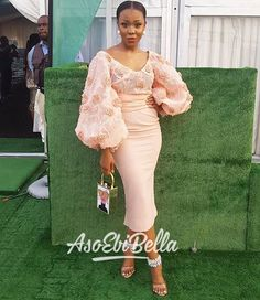 Aso Ebi / Wedding Guest Styles Latest Aso Ebi Styles Super Cute Designs You Should Rock Next - Styles} - Latest Aso Ebi Styles Super Cute Designs You Should Rock Next African Attire, African Wear, African Women, African Style, African Lace Dresses, African Fashion Dresses, Fashion Outfits, 50s Dresses, Elegant Dresses