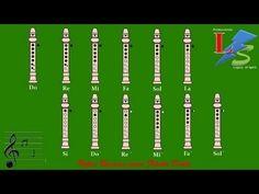 Notas Basicas para Flauta Dulce - YouTube