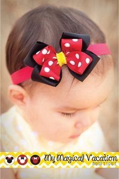 Hey, I found this really awesome Etsy listing at http://www.etsy.com/listing/159492522/minnie-mouse-boutique-baby-bow-disney