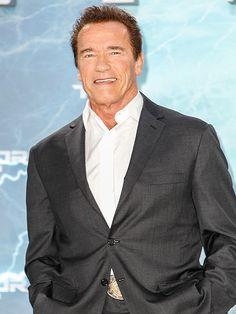 Arnold Schwarzenegger Talks Son Joseph and Patrick and Miley Cyrus Split : People.com