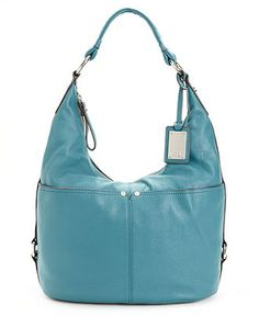 Tignanello Polished Pockets Leather Hobo Handbags Accessories Macy S