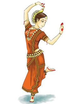 another india dance. This one called Odissi dance. Dance Paintings, Art Drawings, Madhubani Art, Dance Art, Dancing Drawings, Silhouette Art, Indian Folk Art, Art, Art Sketches